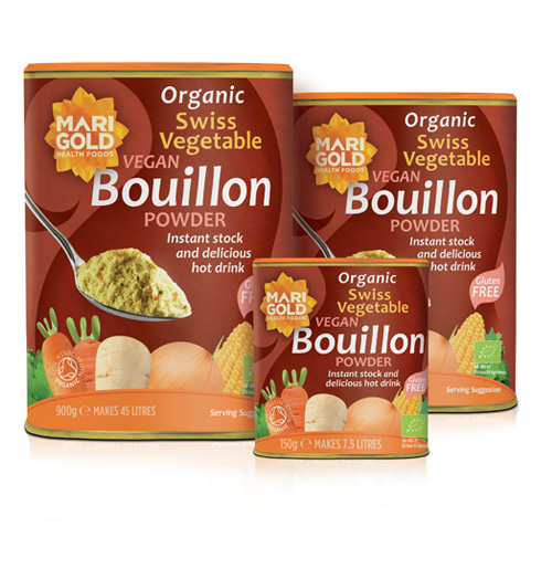 Swiss Vegetable Bouillon Powder – Organic, Gluten Free