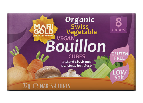 Swiss Vegetable Bouillon Cubes – Organic, Low Salt