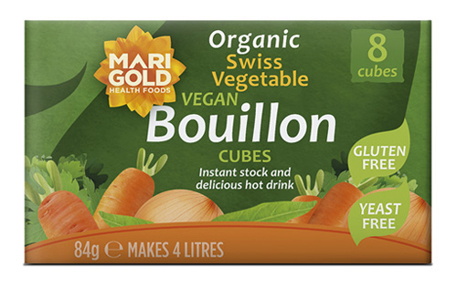 Swiss Vegetable Bouillon Cubes – Gluten Free, Yeast Free