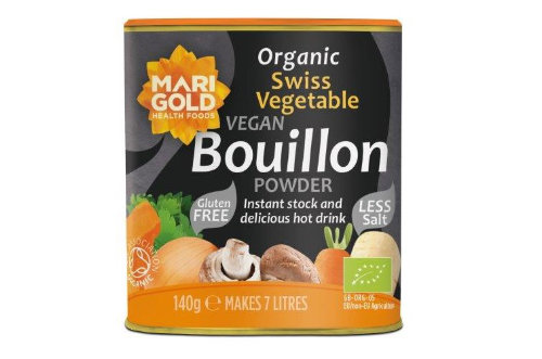Swiss Vegetable Bouillon Powder – Organic, Less Salt