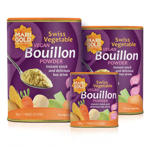 Swiss Vegetable Bouillon Powder – Reduced Salt