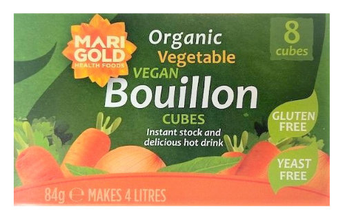 Vegetable Bouillon Cubes – Gluten Free, Yeast Free